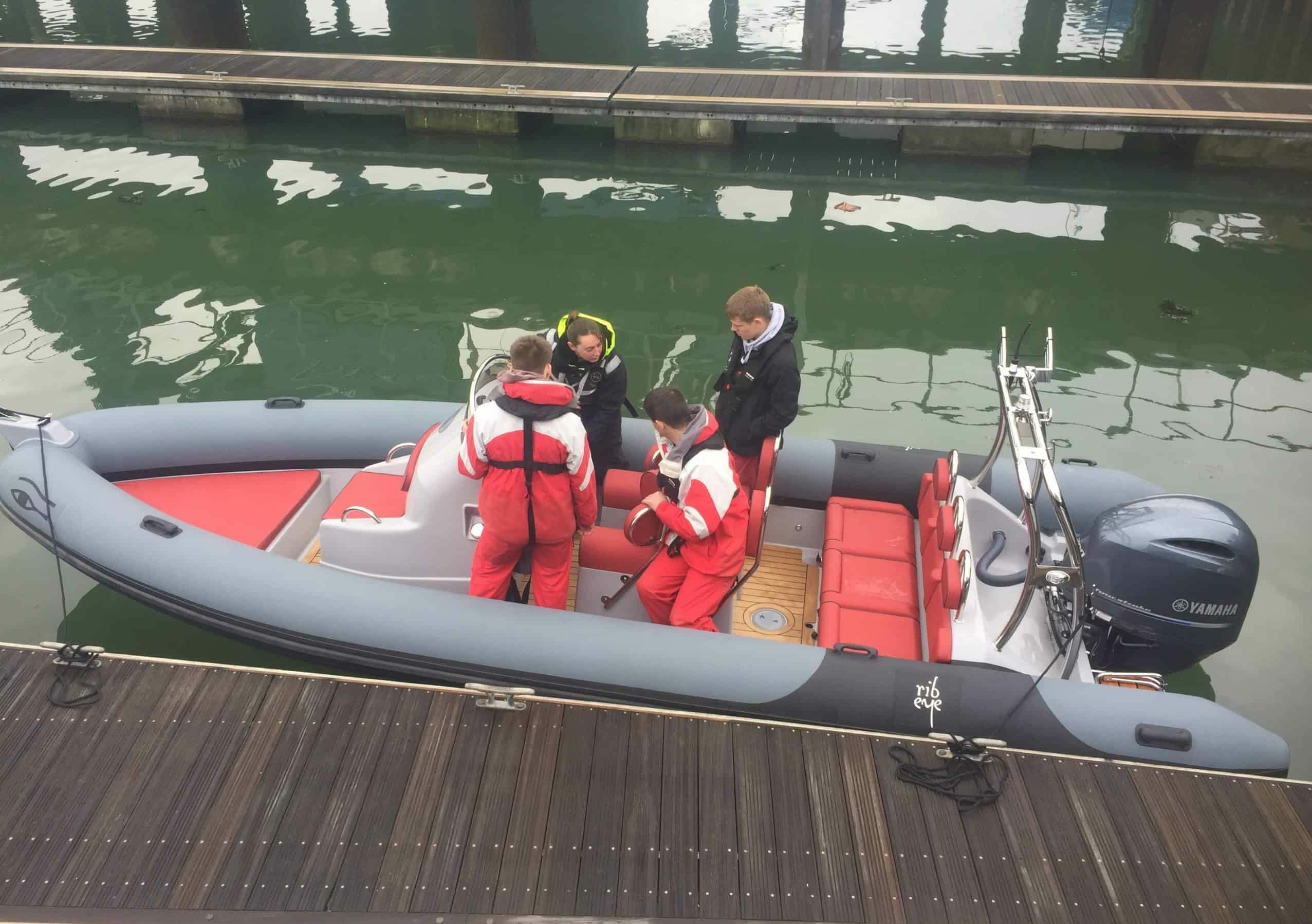 Ribeye Own boat tuition